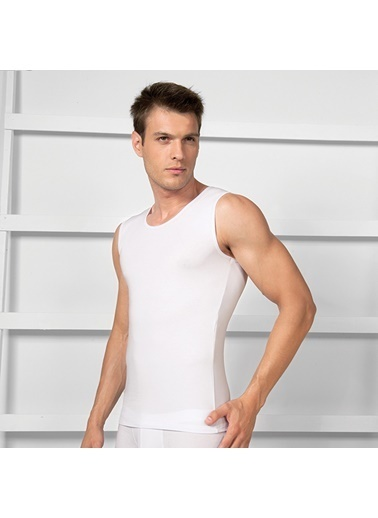 Goldenbay Erkek T-Shirt Beyaz